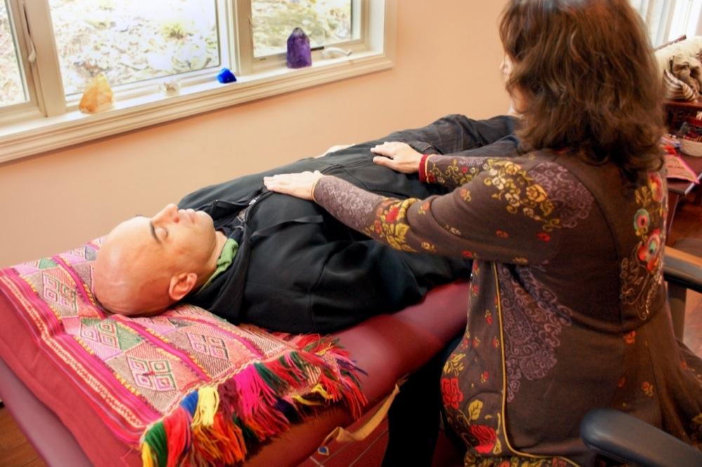 Energy Healing Session Chumpi Illumination Sacred Center Warwick NY