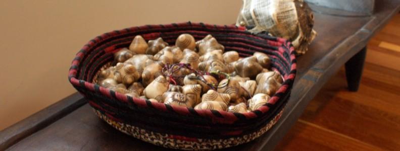 Shell and chumpi stines | Sacred Center Mystery School Healing Center Warwick NY