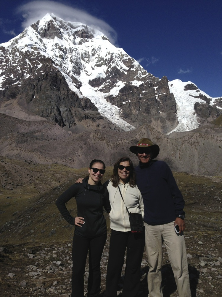 Eleanora, Natasha, and Ruli Sacred Center Peru Journey guides | Ausangate