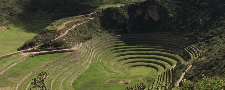 Incan site, Moray on a Sacred Center Peru Journey