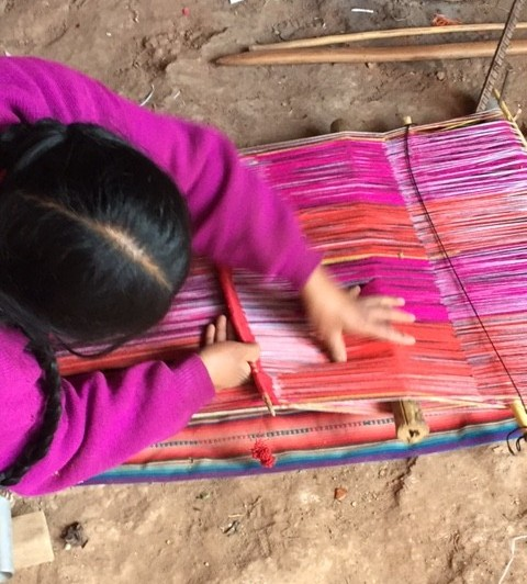 Weaving Andean Cloth | Cusco Peru | Sacred Center Healing |Chumpi Illumination | Eleanora Amendolara