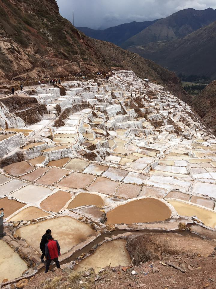 Maras de Sal Salt Mines Peru | Sacred Center Peru Journey